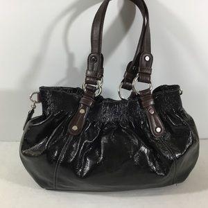 Nine West Black Faux Leather Shoulder Bag New